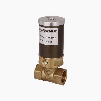 Pneumatisches 2/2-Wegeventil pneumatisch angesteuert