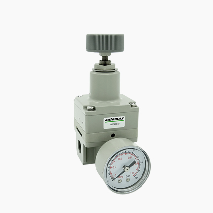 Precision pressure regulator type GRP